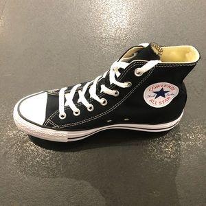Converse all star black hi